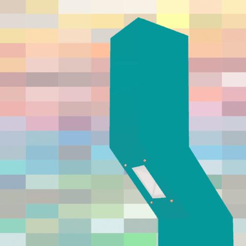 Die AUDAX Wegeleuchte vor RAL Farben Hintergrund