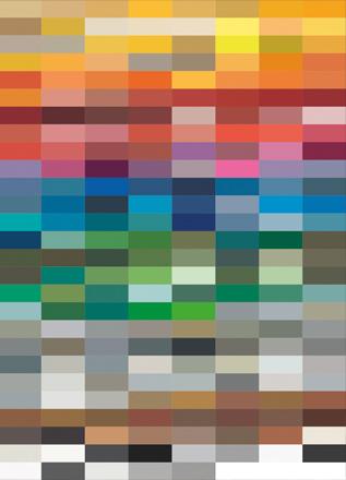 Die MAGNELLO Farbtabelle mit 214 RAL Farben für Außenbeleuchtung