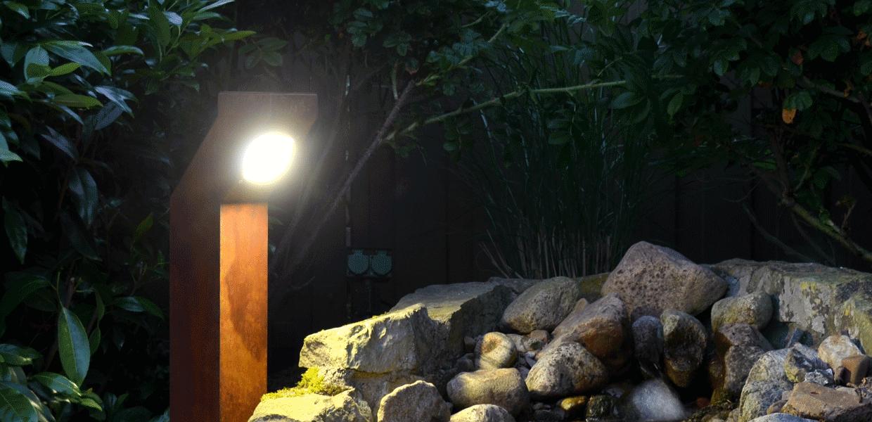 Slider von der Außenbeleuchtung aus der MAGNELLO Leuchtenmanufaktur