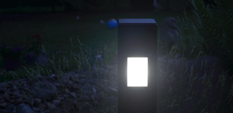 Die SIMPLEX Wegeleuchte in Anthrazit, aus der MAGNELLO Leuchtenmanufaktur